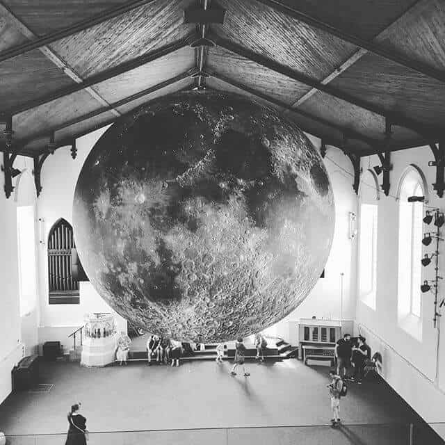 Moon in Church