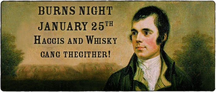 Happy Rabbie Burns' Night!